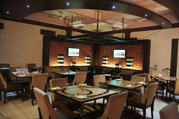 Restaurant at HOTEL MOHAN LUCKNOW Lucknow - Budget Hotels in Lucknow