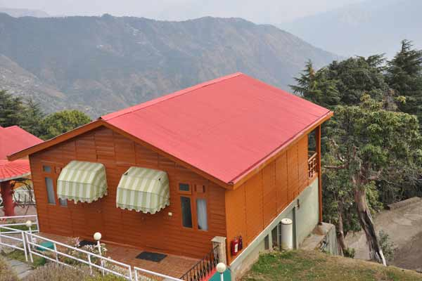Wood Stock Log Hut, TARIKAS JUNGAL RETREAT - Budget Hotels in Chail